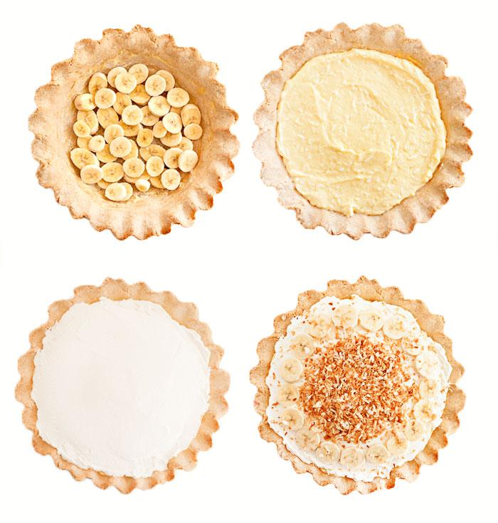 Coconut Banana Cream Pie | Sprinkles for Breakfast