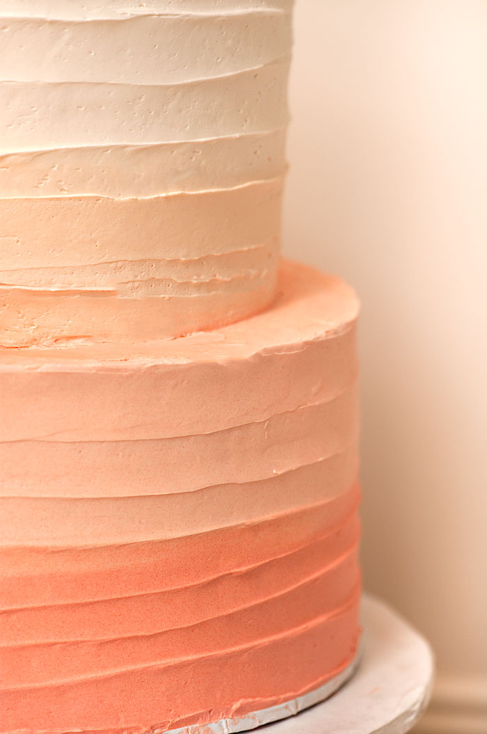 Peach Ombre | Sprinkles for Breakfast