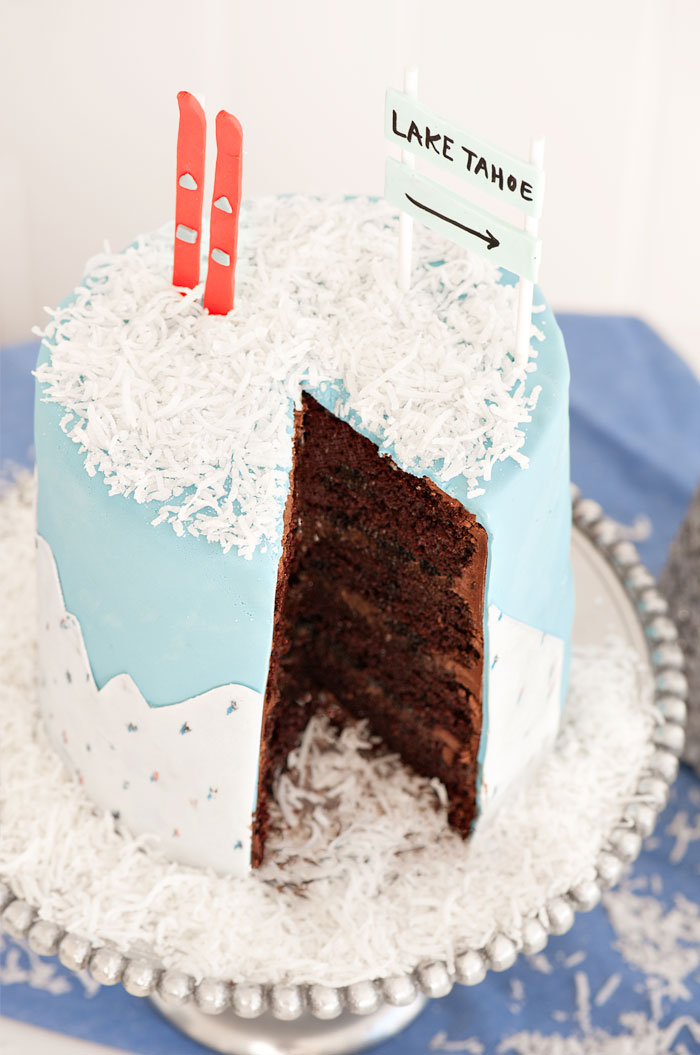 Gray Malin Inspired Cake | Sprinkles for Breakfast