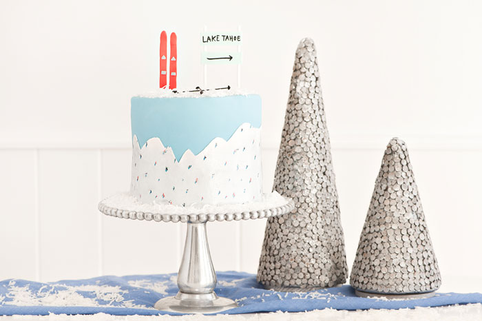 Gray Malin Inspired Cake