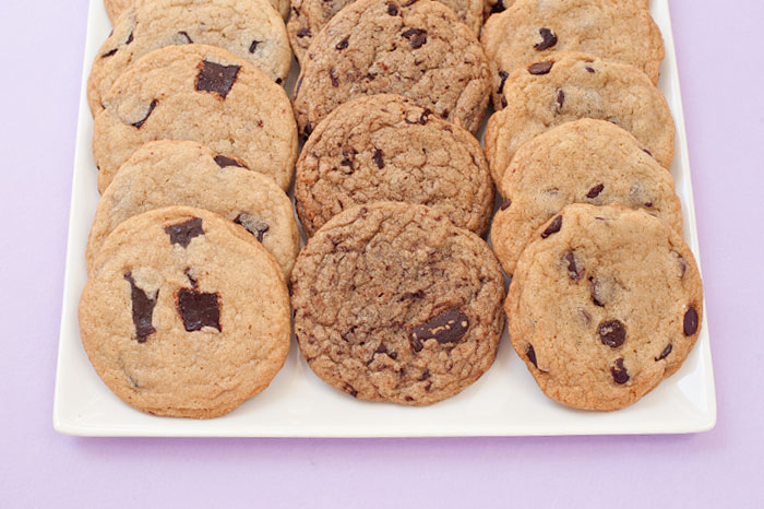 Which makes the best Chocolate Chip Cookie? Shavings, Chips or Chunks?!