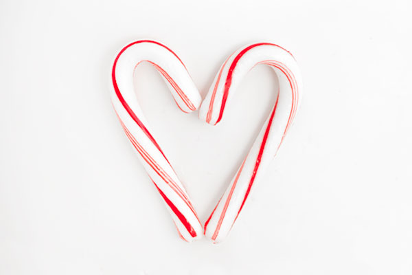 Candy Cane Heart Cake | Sprinkles for Breakfast