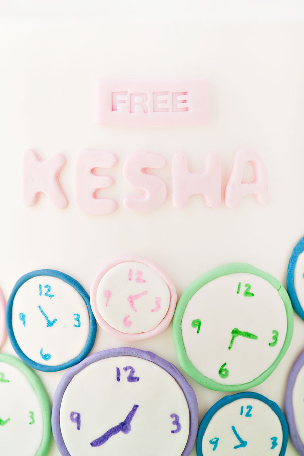 Free Kesha Cake | Sprinkles for Breakfast