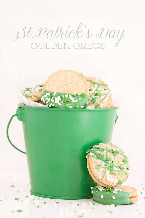 St.Patrick's Day Oreos | Sprinkles for Breakfast
