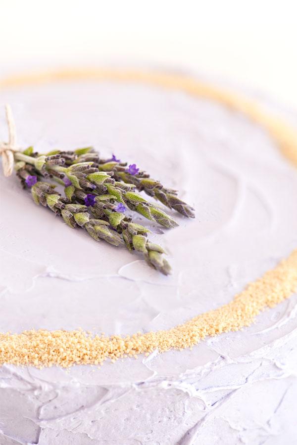 HOney Lavender Cake with Nektar Honey Crystals | Sprinkles for Breakfast
