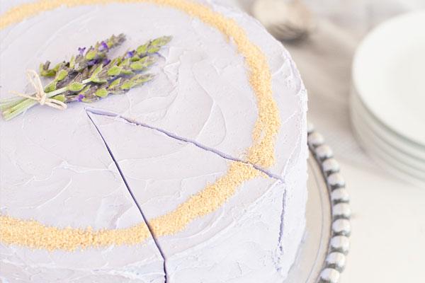 Honey Lavender Cake