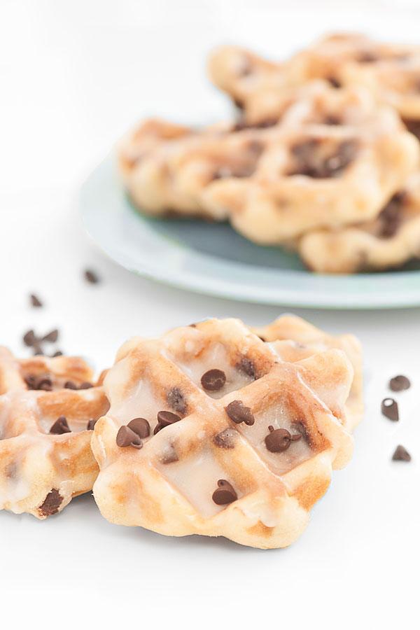 Chocolate Chip Waffle Cookies | Sprinkles for Breakfast