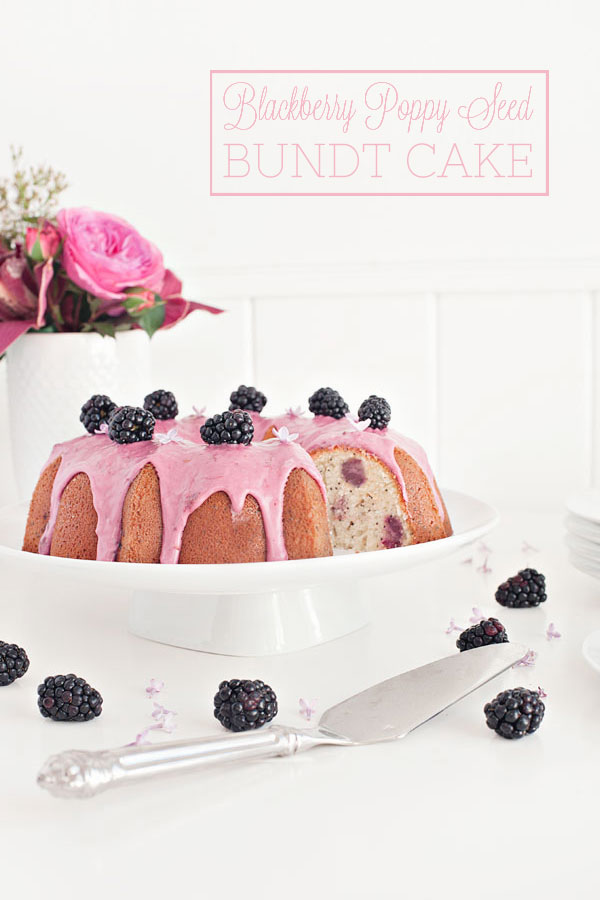 Blackberry Poppy Seed Bundt Cake | Sprinkles for Breakfast