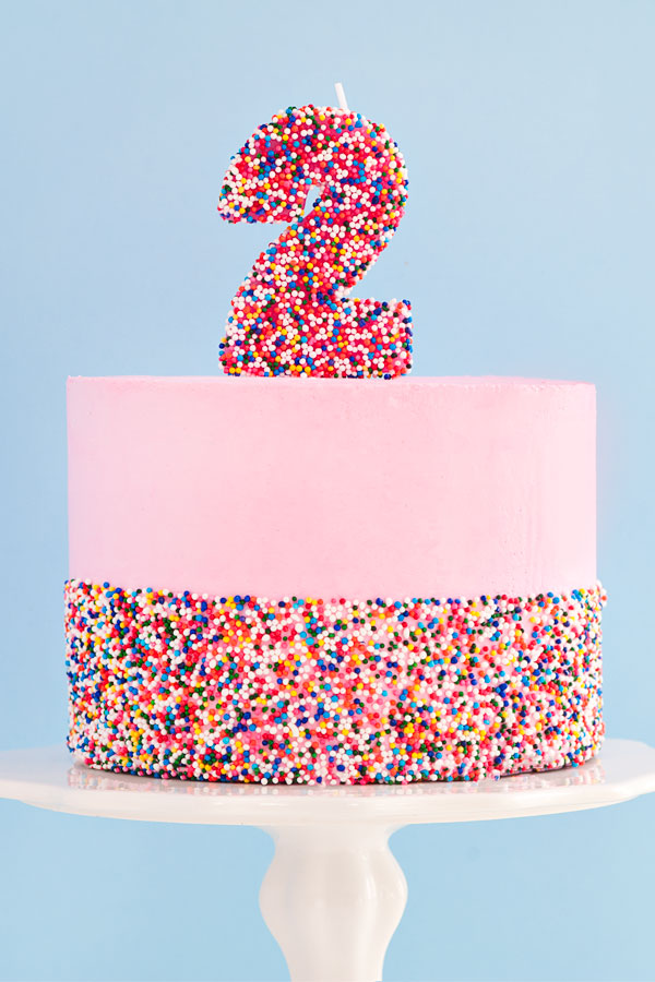 How to make a DIY Sprinkle Cake | Sprinkles for Breakfast