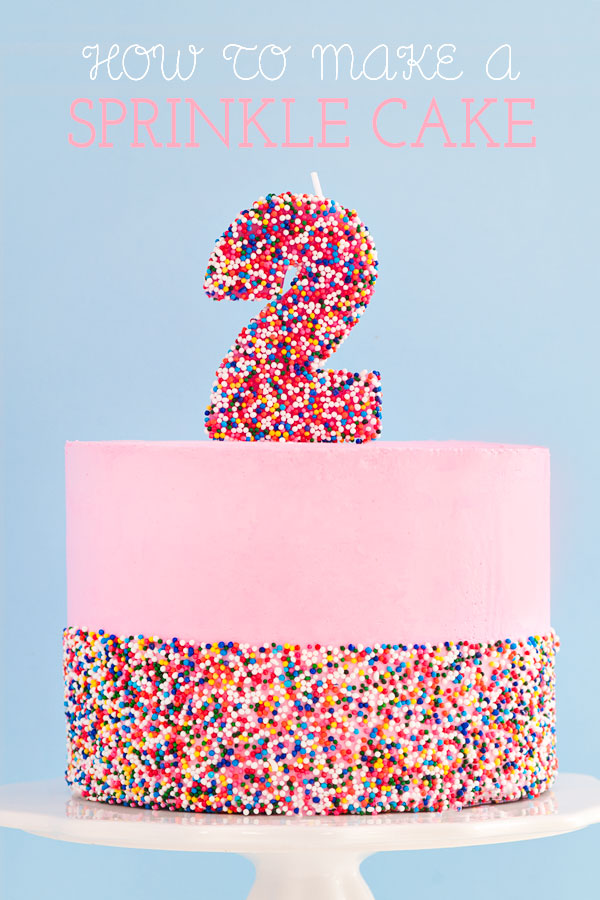 How To Make The Best Sprinkle Birthday Cake | Sprinkles for Breakfast
