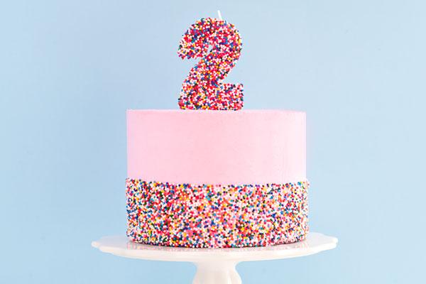 Ultimate Sprinkle Cake