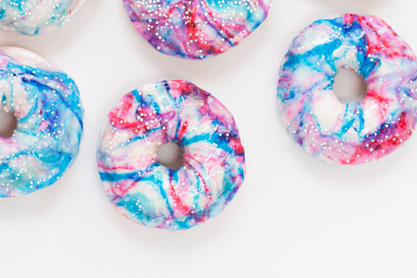 Marbled Doughnuts