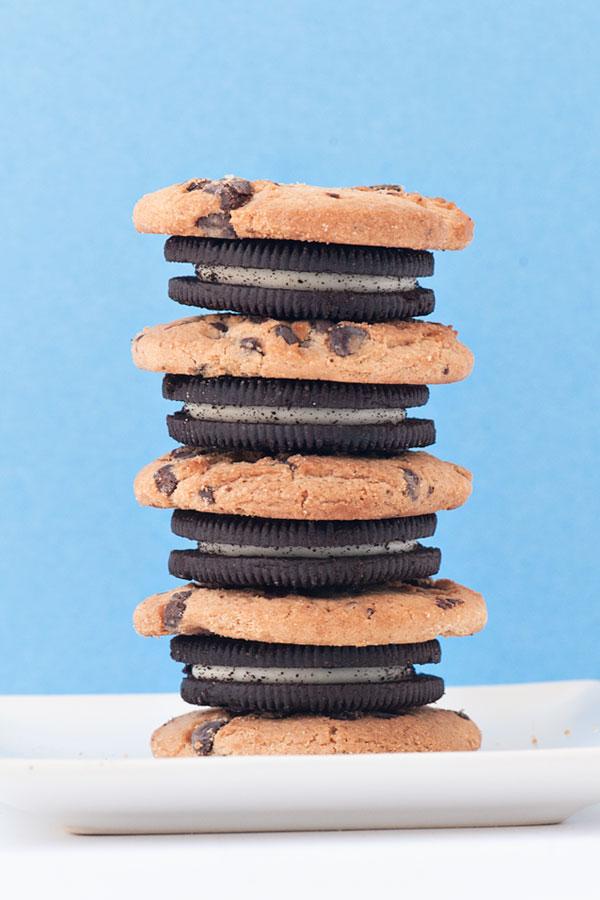 The Best No Churn Milk & Cookies Ice Cream | Sprinkles for Breakfast