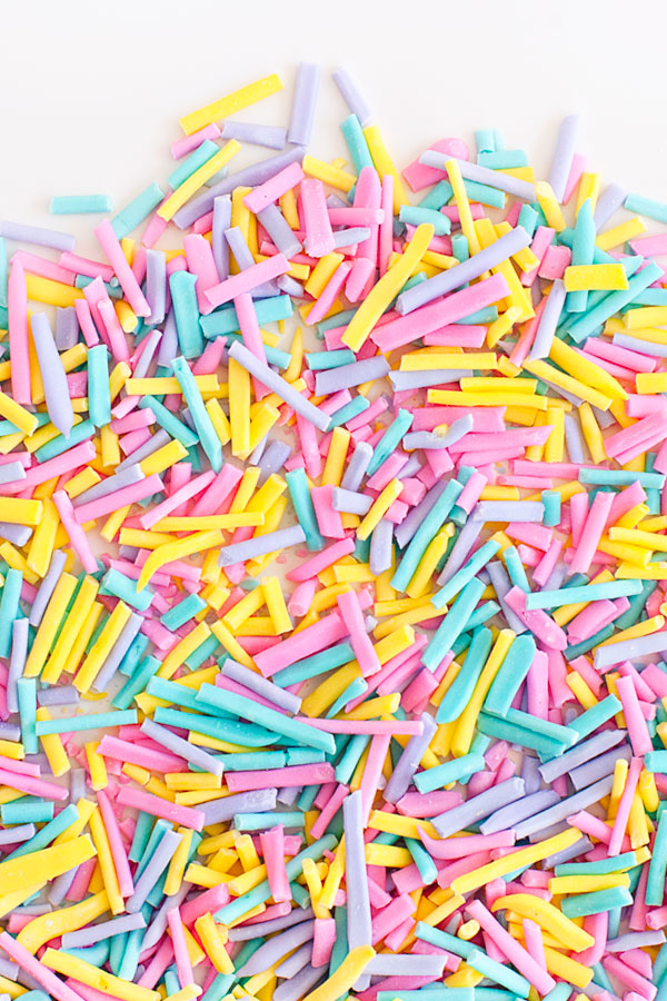 Homemade Sprinkles | Sprinkles for Breakfast