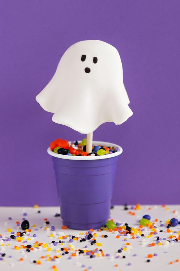 Ghost Cake Pops   Sprinkles for Breakfast