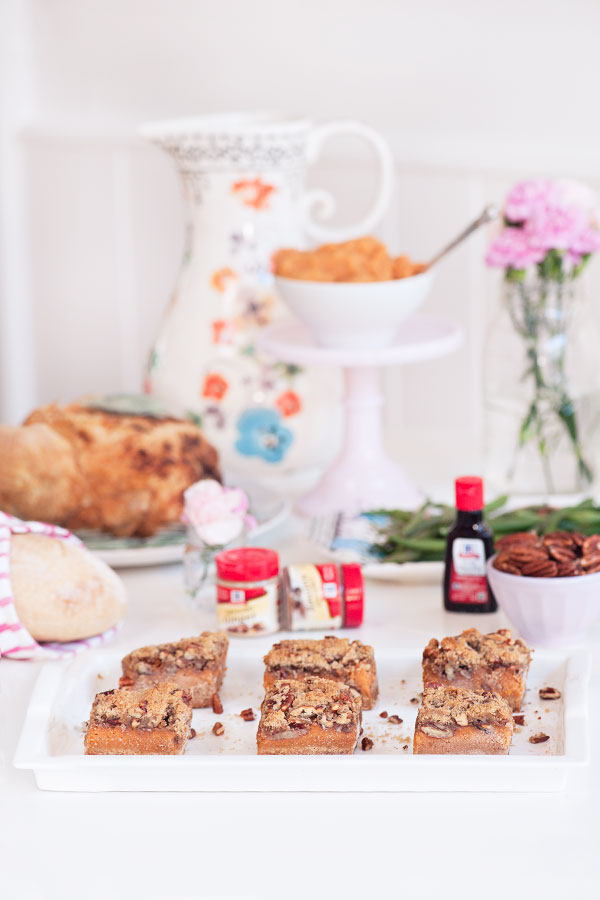Sweet Potato Strusel Bars | Sprinkles for Breakfast