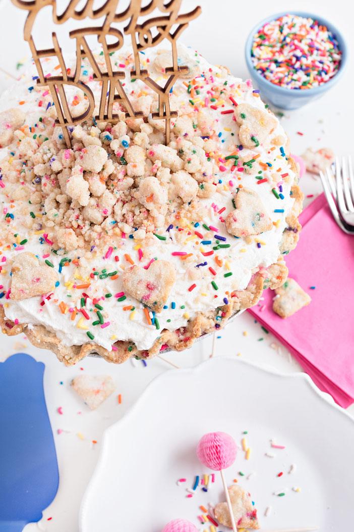 Confetti Birthday Pie | Sprinkles for Breakfast