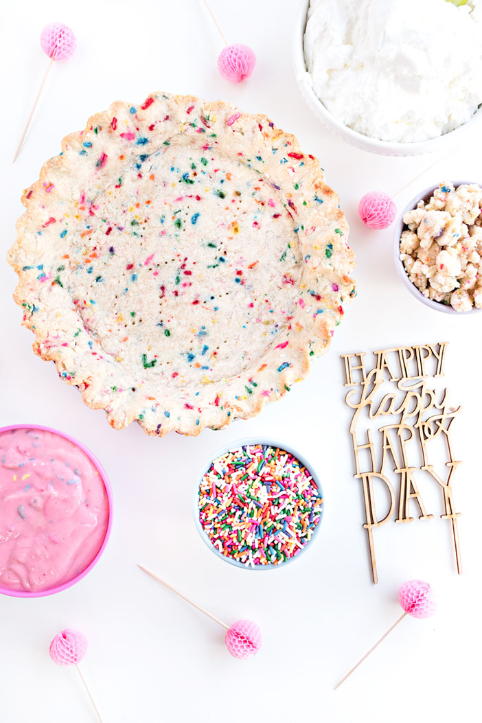 Confetti Birthday Pie | Sprinkles for Breakfast