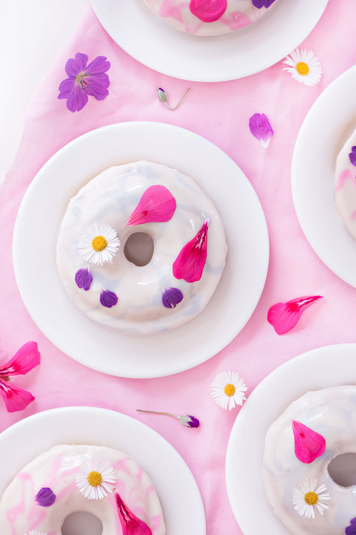 Floral Doughnuts perfect for Mother's Day | Sprinkles for Breakfast