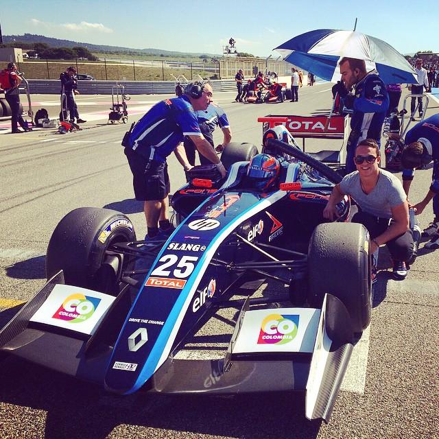 World series by Renault, acompañando a @oscartunjo en el circuito Paul Ricard Francia