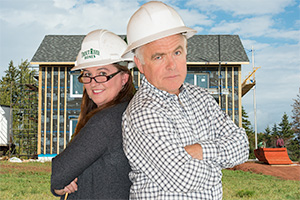 Owners, Terry and Natalie Perry, Trout River Homes, Serving PEI Nova Scotia and New Brunswick