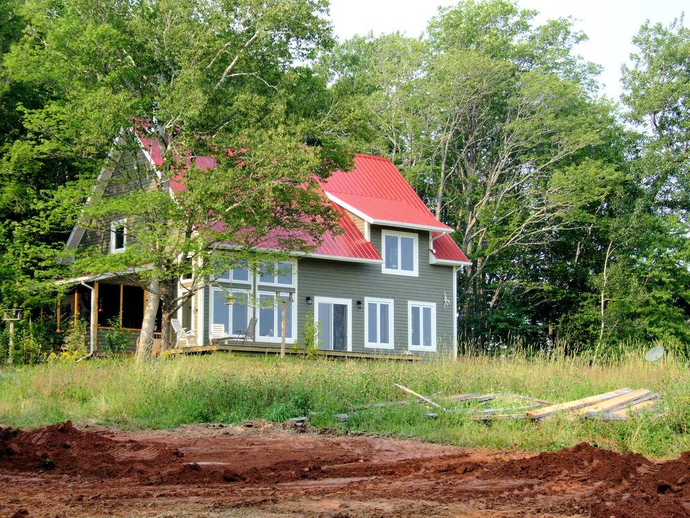 Home exterior Passive Solar ConstructionPEI NS NB