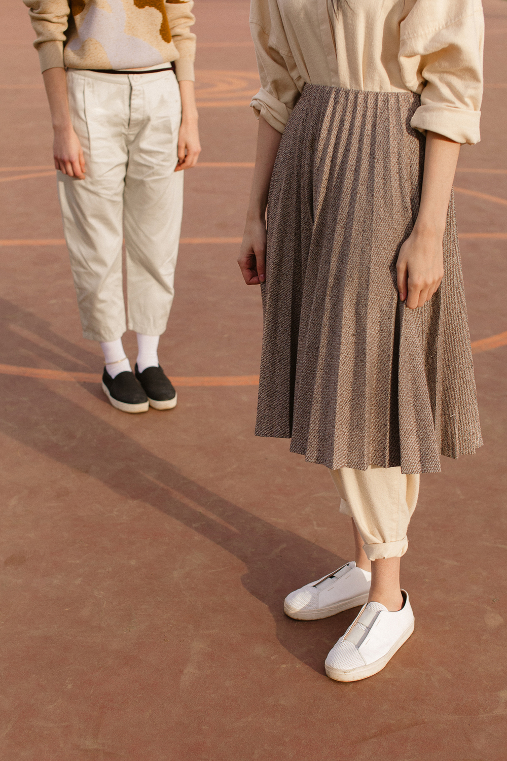 Ritual Pant                                         Kowtow                                          _                                       Vintage Pleated Skirt