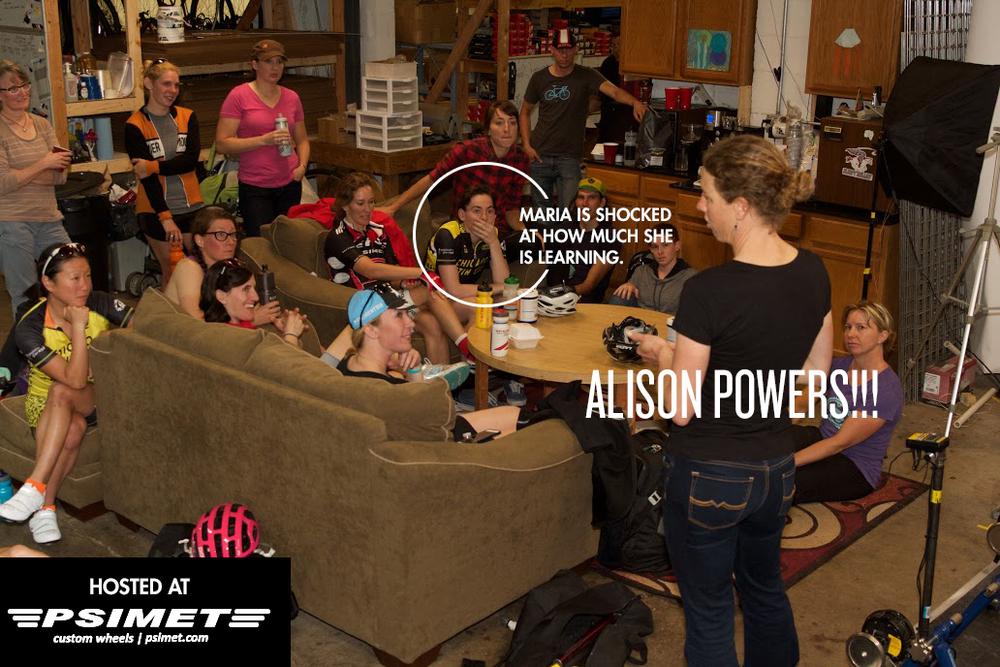 Meet n Greet with Alison Powers