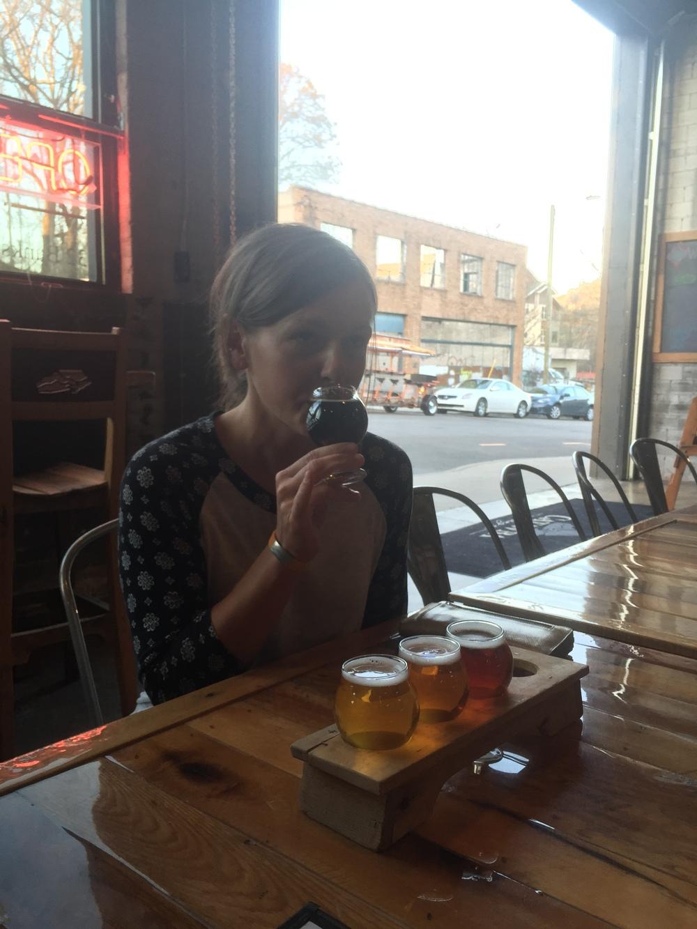 Nicole Takes a Taste Test