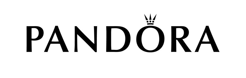 pandora jewellery brand logo