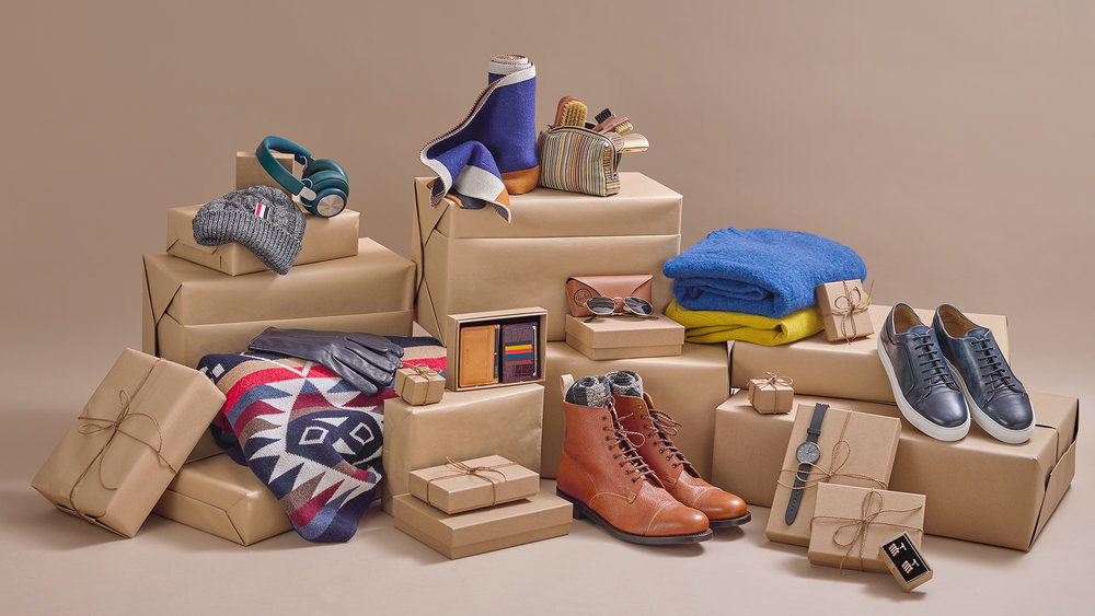 brown boxes with fashion products still life.jpg