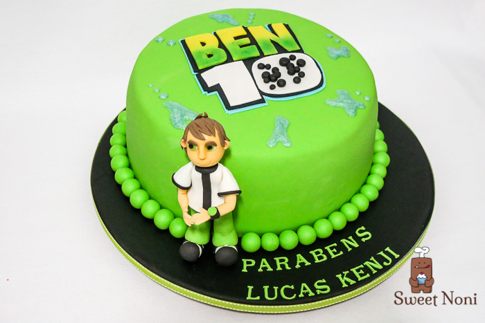 Ben 10 Cake For Lucas Kenji