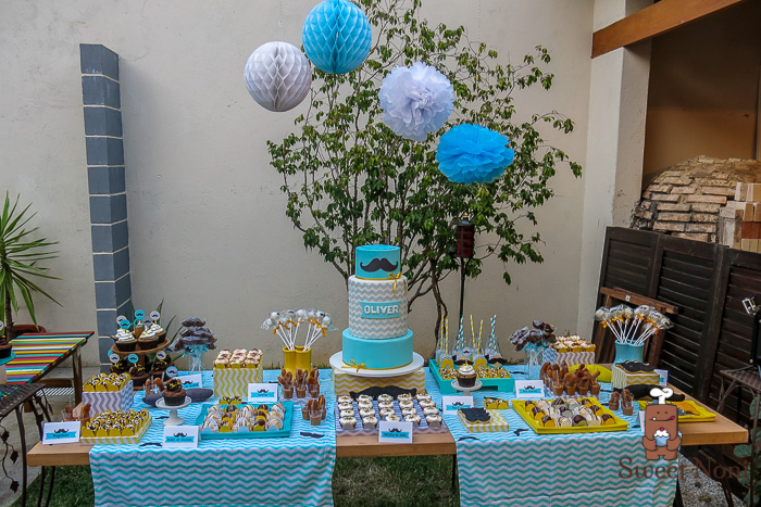 Mustache Baby Shower Oliver S Baby Shower Sweet Noni