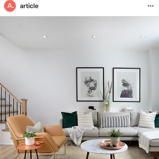 Looking for amazing #midmod furniture,  check out @article.  Love Your Surroundings  XOXOX  #article #articlefurniture #couches #livingroom #sofas #design #interiordesign #xosurroundings #personalorganizer #organizedhome