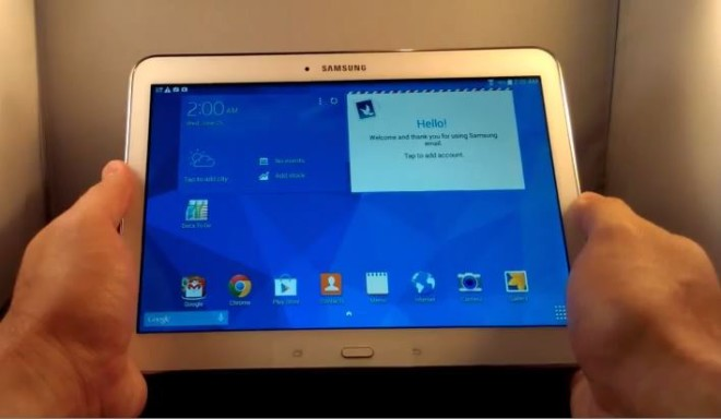 "Samsung Galaxy Tab 4 10.1 10"" 16GB Tablet SM-T535 Black ..."