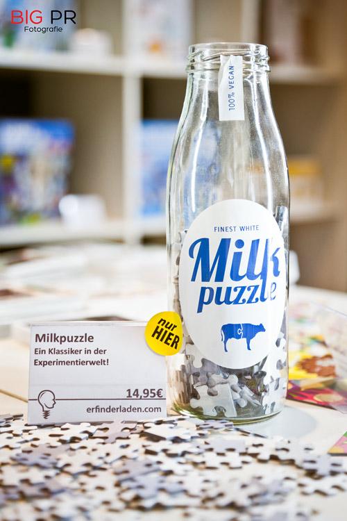 Eine hauseigene Kreation: Das Milk-Puzzle