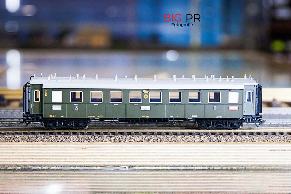 Ein D-Zug Waggon der Reichsbahn