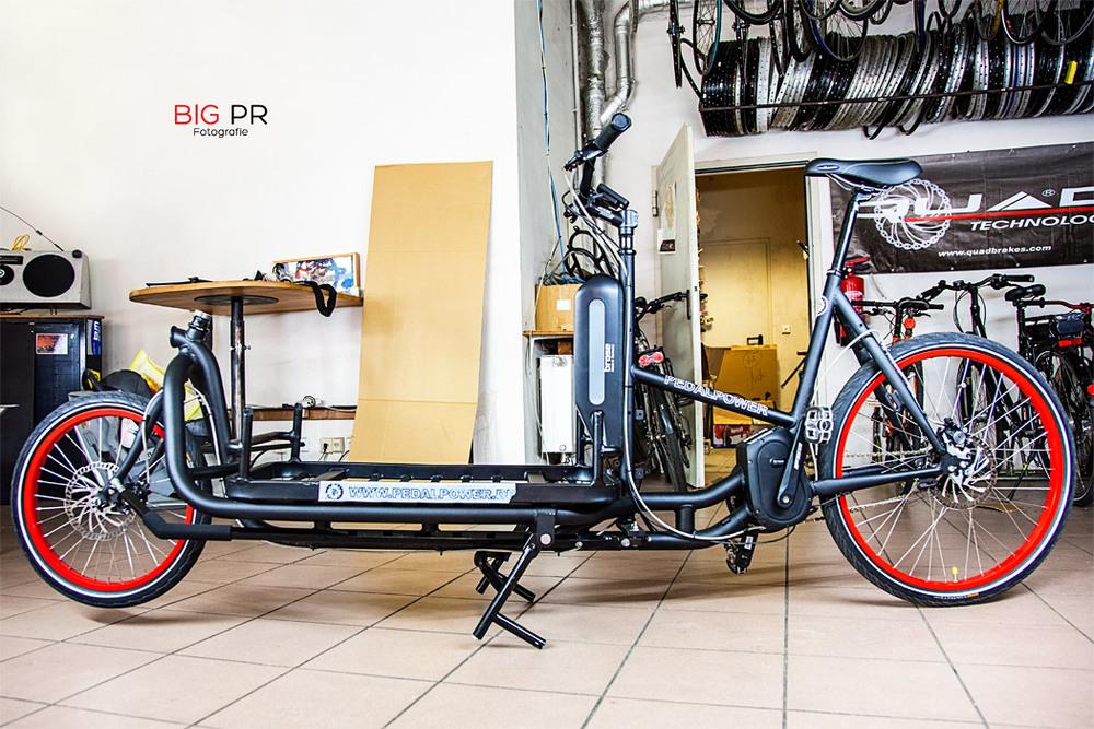 Die neueste Innovation von Pedalpower: das eHarry Cargo Brose (ab 3.999,- €)