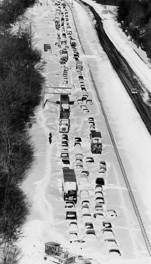 Route 128 After Blizzard Of 1978