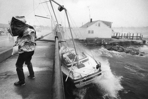 Hurricane Gloria Hits New Bedford