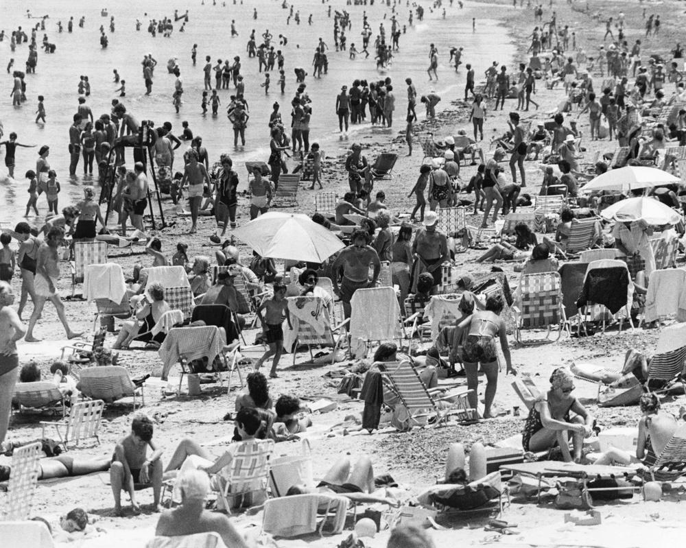 Beachgoers Crowd Revere Beach The Globe Collection