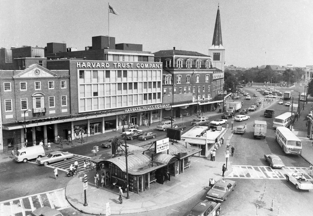 Harvard Square 1970 The Globe Collection