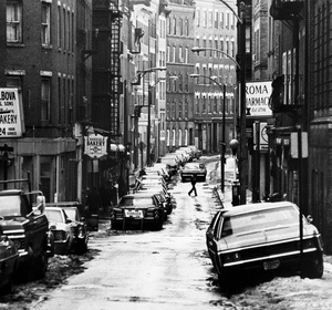 Prince Street In Boston's North End 1974