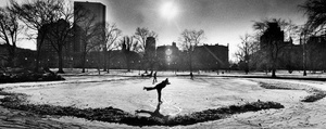 Ice Skating At Boston Public Garden 1979