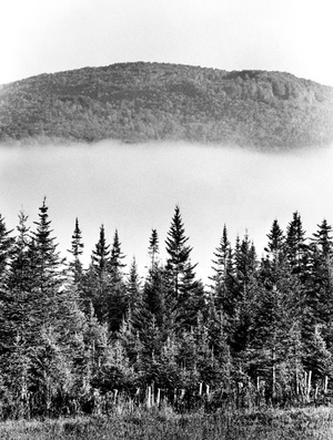 Mountain Fog In St. Johnsbury 1978