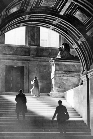 Inside Boston Public Library 1926