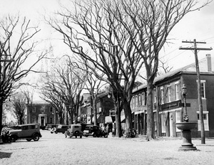 Main Street In Nantucket 1934