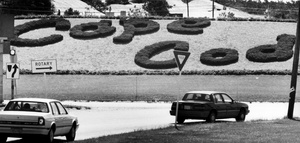 Cars Drive On To Cape Cod 1986