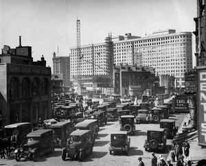 Building The Statler Hotel 1926