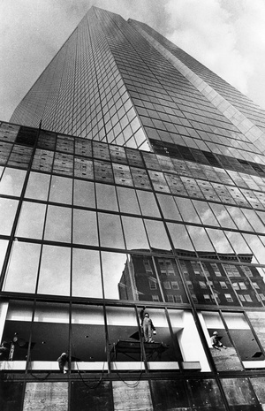 Hancock Tower Window Replacement 1975